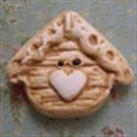Picture of Birdhouse with Cream Heart