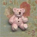Picture of Mini Furry Bear - Pink