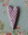 Picture of Hatched Heart Mauve