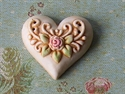Picture of Intricate Heart Cream