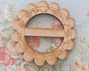Picture of Wooden Floral Buckle