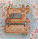 Picture of Wooden Brooch - Sew Special
